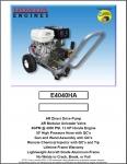 4000 psi Honda Engine AR Pump