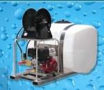 Sistema de Lavado a Presion Fijo con Tanque