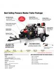 Trailer Pressure Washer Package